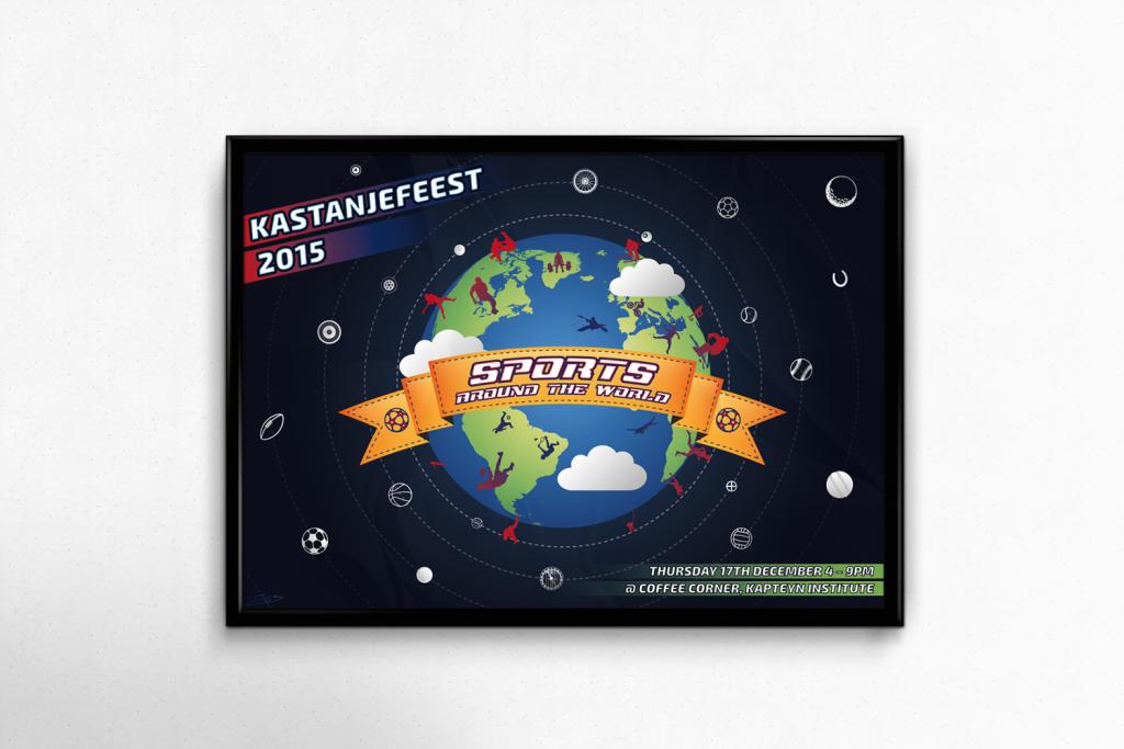 Kastanjefeest Poster 2015 Mockup