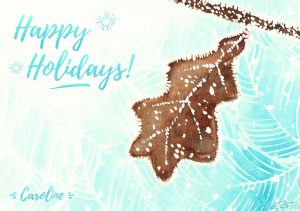 Winter Holidays Card 2016