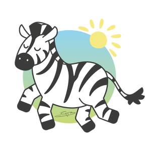 Cute Zebra Design